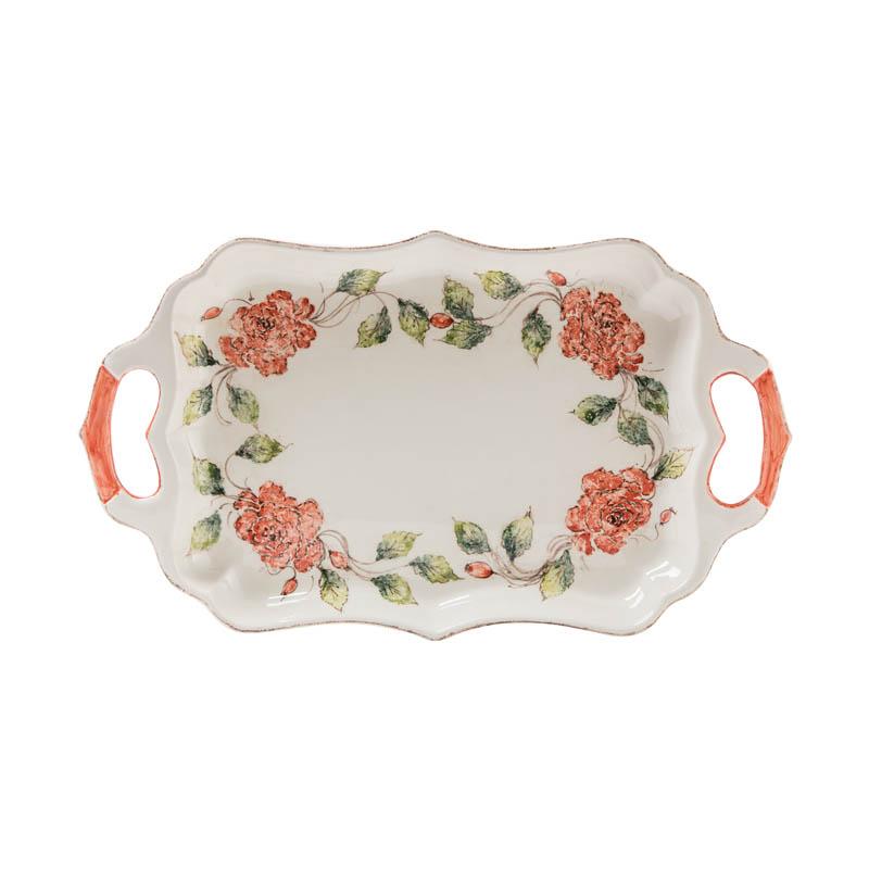 Project Description  sc 1 st  Ceramiche Bizzirri & Rectangular platter \u2013 Ceramiche Bizzirri